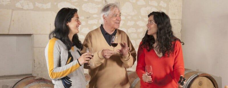 Contacto cocina y los vinos franceses 'Les Demoiselles de Pallus'