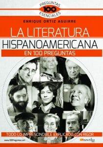 Portada de La literatura hispanoamericana en 100 preguntas