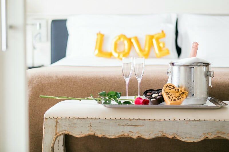 San Valentín en el hotel Majestic