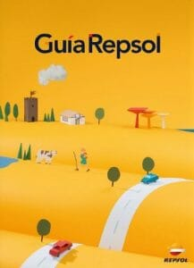 Guía Repsol, paradas y mapas