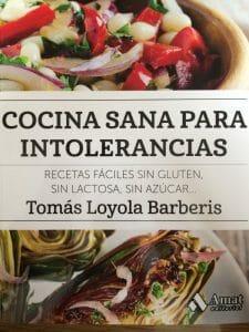 Portada de Cocina sana para intolerancias