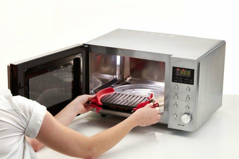 Microwave Grill, una parrilla en el microondas