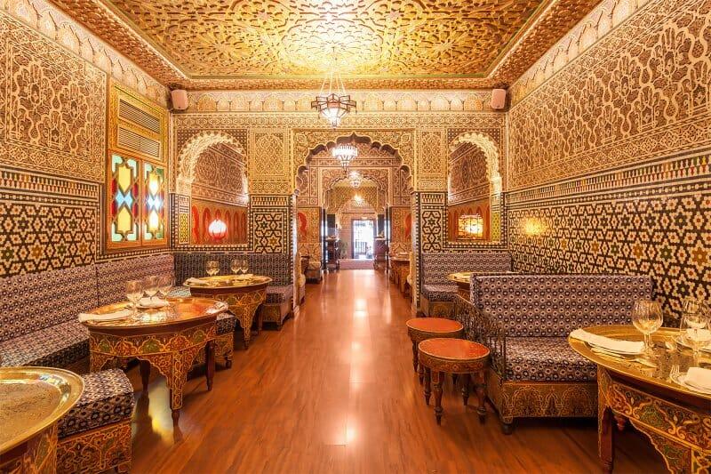 Al-Mounia: alta cocina magrebí y una pastela deliciosa