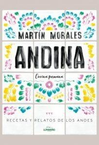 Portada de Andina, recetas y relatos de los Andes