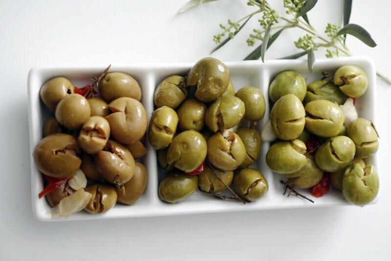 Andalucía en el plato. Aceitunas Olareñas