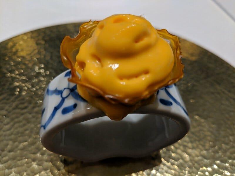 Cilindro de Kimchi con Ibérico