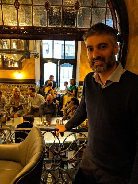 Diego Cabrera en Viva Madrid