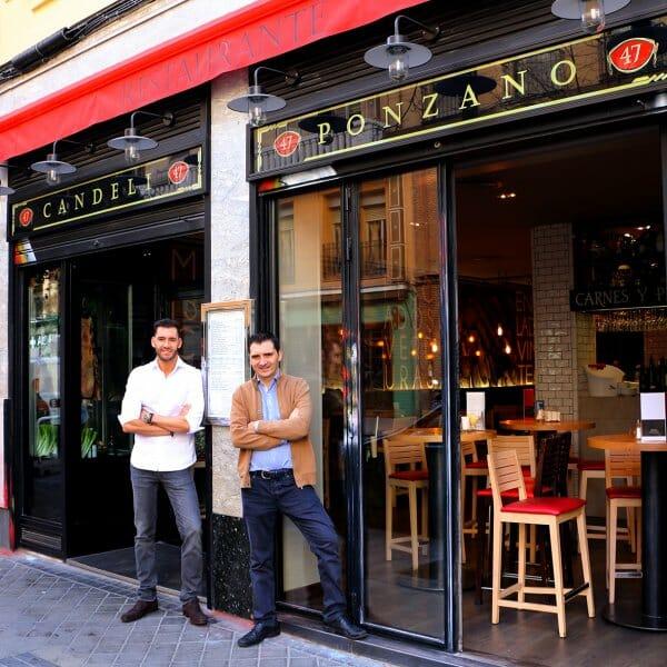 Restaurante Candeli, muy buen producto y elegante local en el corazón de Ponzano