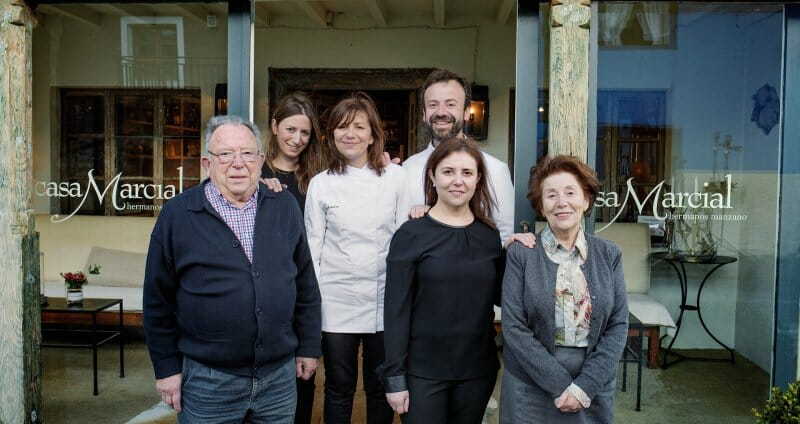Casa Marcial cumple 25 años de original cocina asturiana