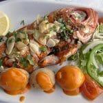Uno de los excelentes pescados que se pueden degustar en La Pared