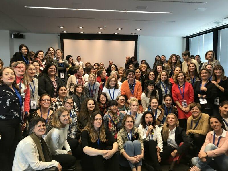 Participantes encuentro Mujeres en la Gastronomía