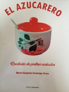 Portada de El azucarero: recetario de postres variados