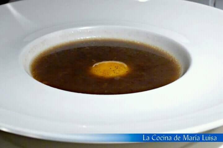 Sopa de trufa