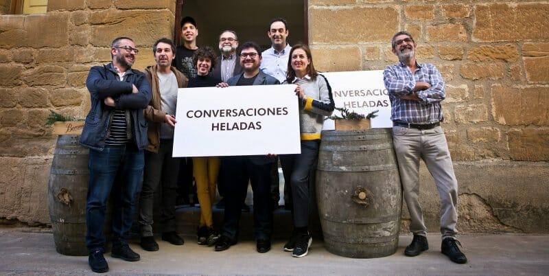 Anfitriones y ponentes de Conversaciones Heladas