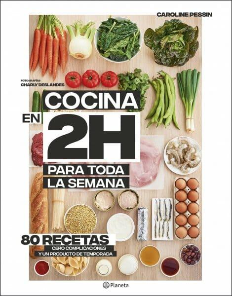 Libro cocina en dos horas