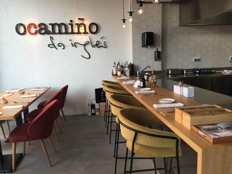 O Camiño do Inglés, un restaurante desenfadado y con muchos platos sorprendentes en el corazón de Ferrol