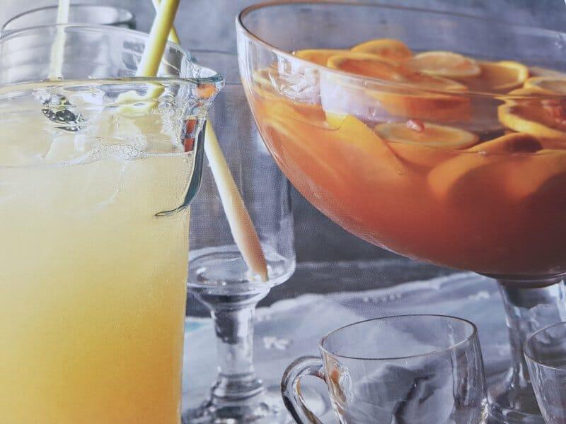 Bebidas artesanas con cítricos