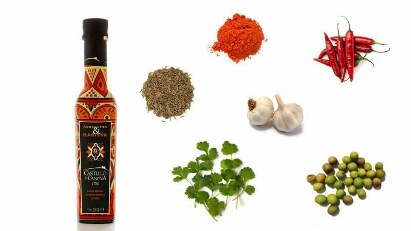 Harissa y Placton, los nuevos aceites gourmet de Castillo de Canena