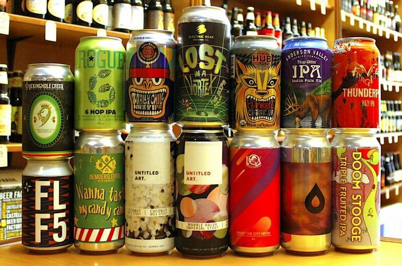 La cerveza artesanal en lata