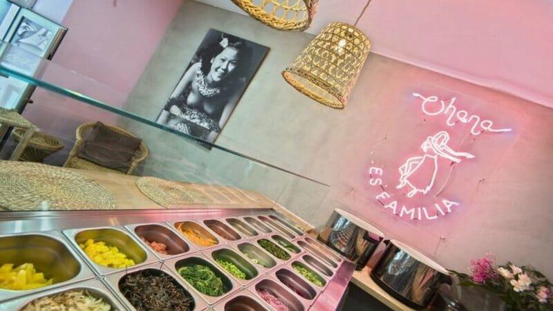 Poke House Ohana: cocina muy saludable en el centro de Madrid