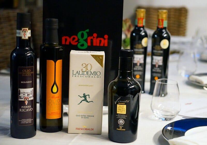 Bodegón aceites italianos