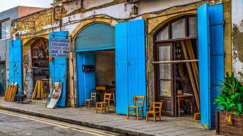 Comer bien en Chipre
