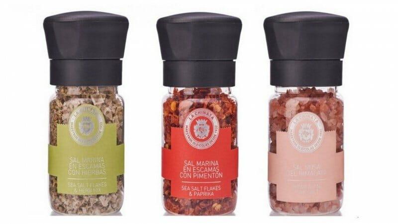 Molinillos de sal: La Chinata