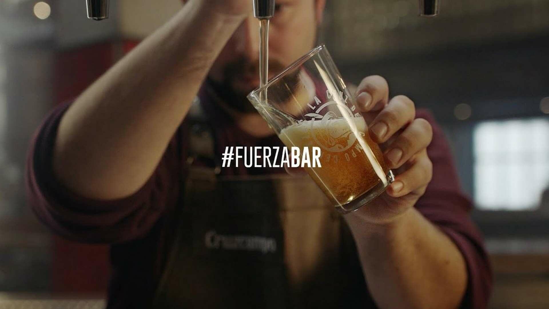 El movimiento #fuerzabar suma más de 15 marcas líderes para llenar los almacenes de bares y restaurantes