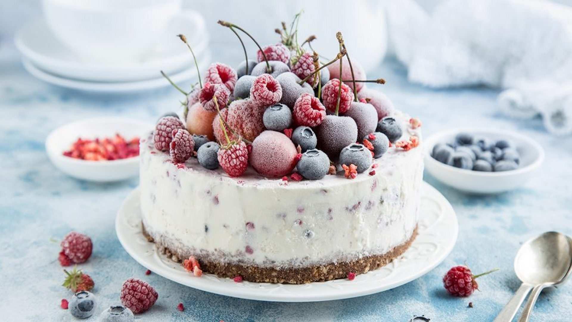 Receta de Pastel de Yogur y Vainilla