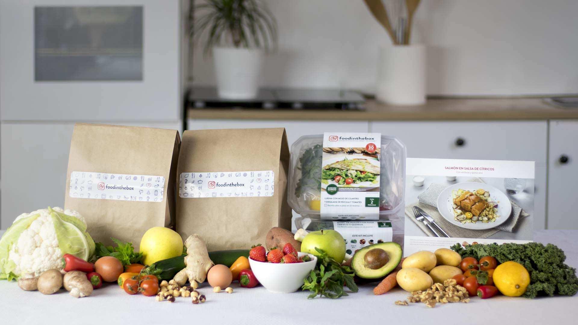 El auge de los kits para cocinar en casa