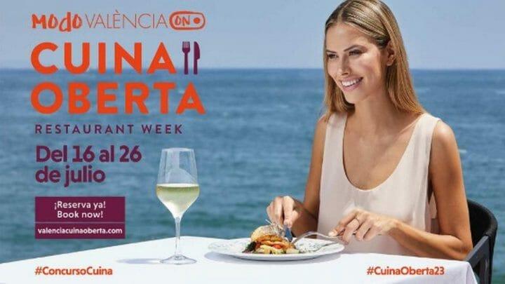 València Cuina Oberta. Menús desde 24 euros en las mejores mesas valencianas