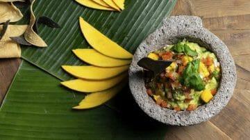 Receta del auténtico Guacamole Mexicano