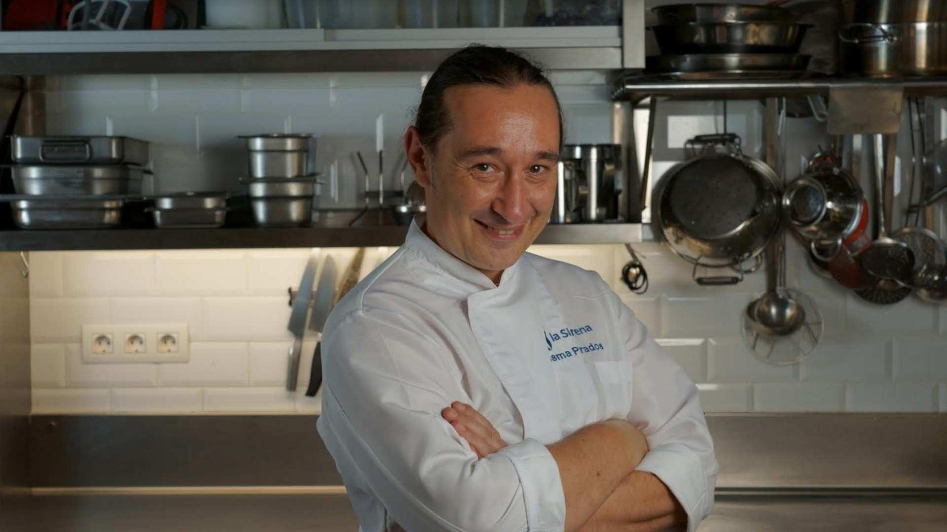 Ismael Prados, cocinero y presentador de TV
