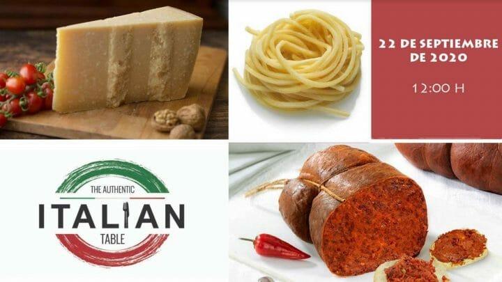 """Abiertas las inscripciones para """"The Authentic Italian Table"""""""