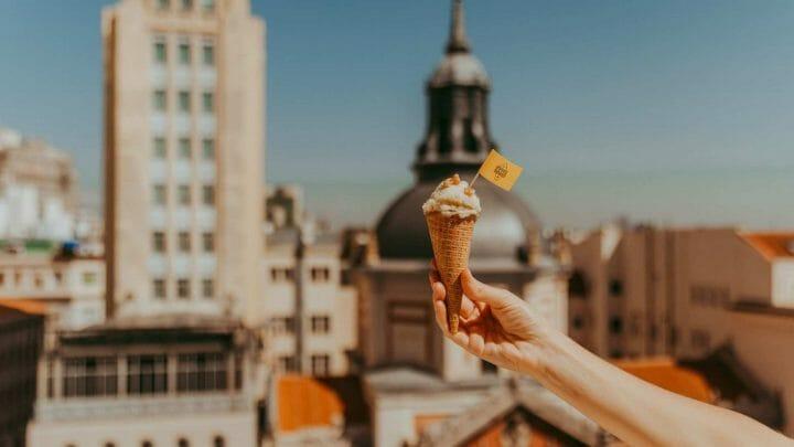 Ruta del helado artesanal de Queso Grana Padano en Madrid