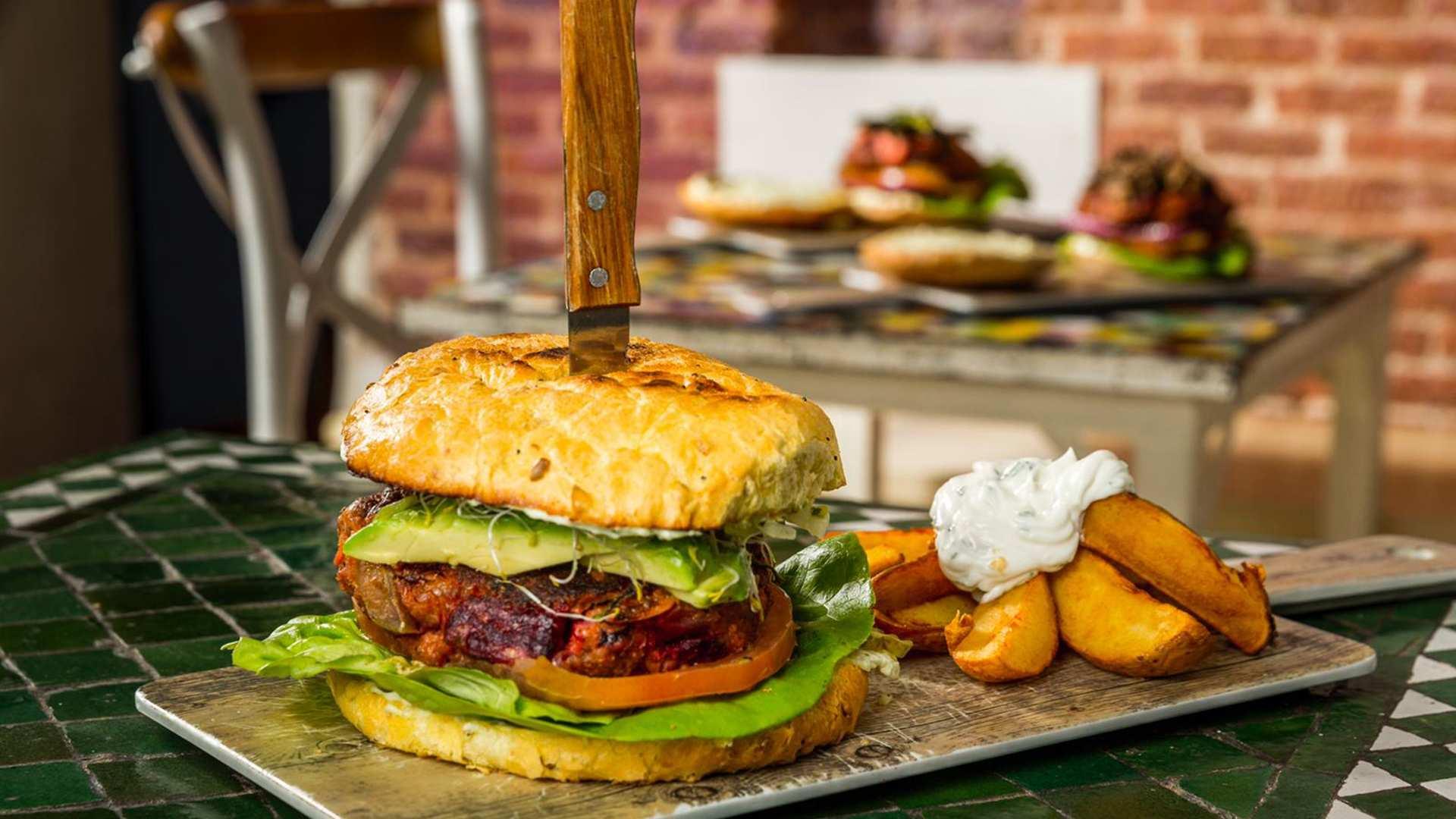 Cuatro hamburguesas 'veggies' para celebrar el Día del Vegetarianismo