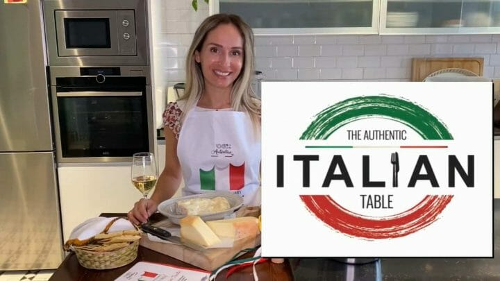 18 productos y 5 regiones italianas protagonistas del  evento: The Authentic Italian Table