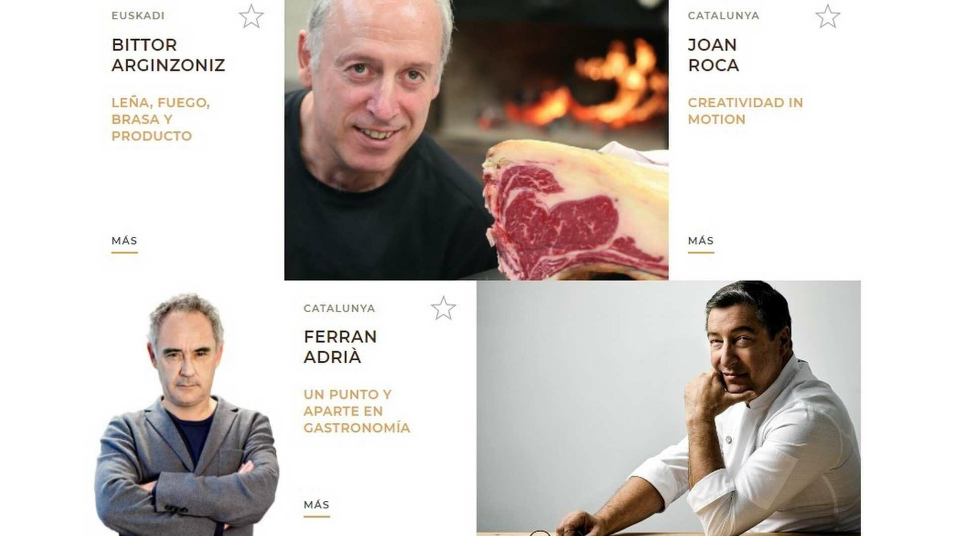 El programa de San Sebastián Gastronomika: ponencias, actividades, mesas redondas... y mucha cocina.