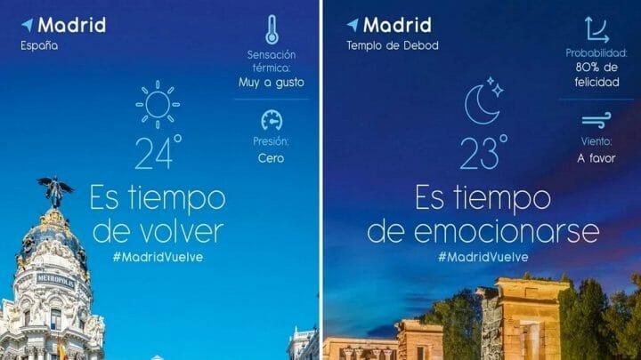 """""""Vuelve a Madrid"""", centenares de propuestas para disfrutar de la ciudad"""