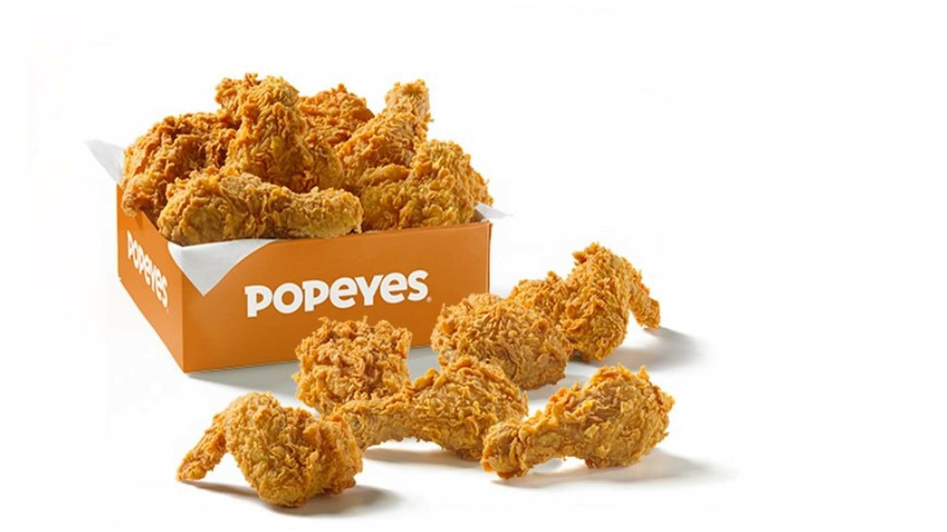 Popeyes Louisiana Kitchen , el paraíso de los amantes del pollo frito