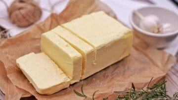 Cómo hacer mantequilla en casa (sin sal) en 3 sencillos pasos