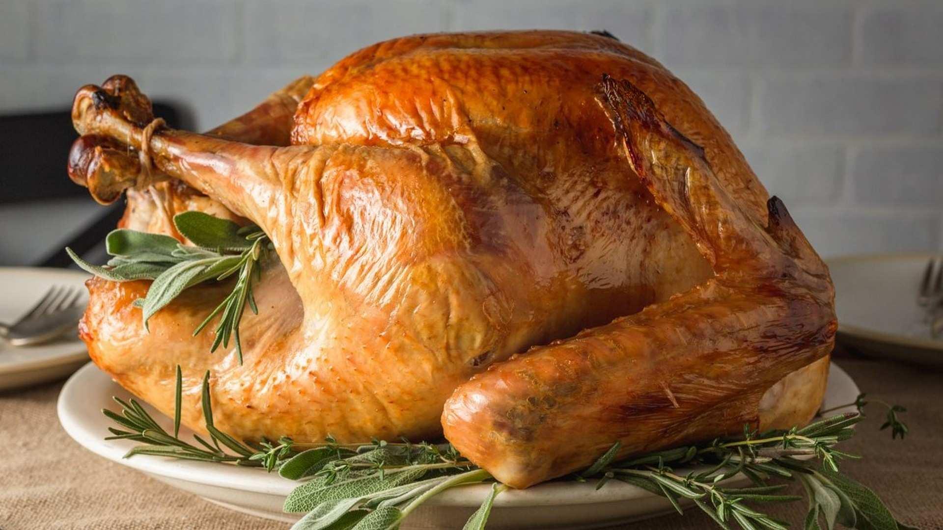 Receta de Pavo asado relleno: especial recetas de Navidad