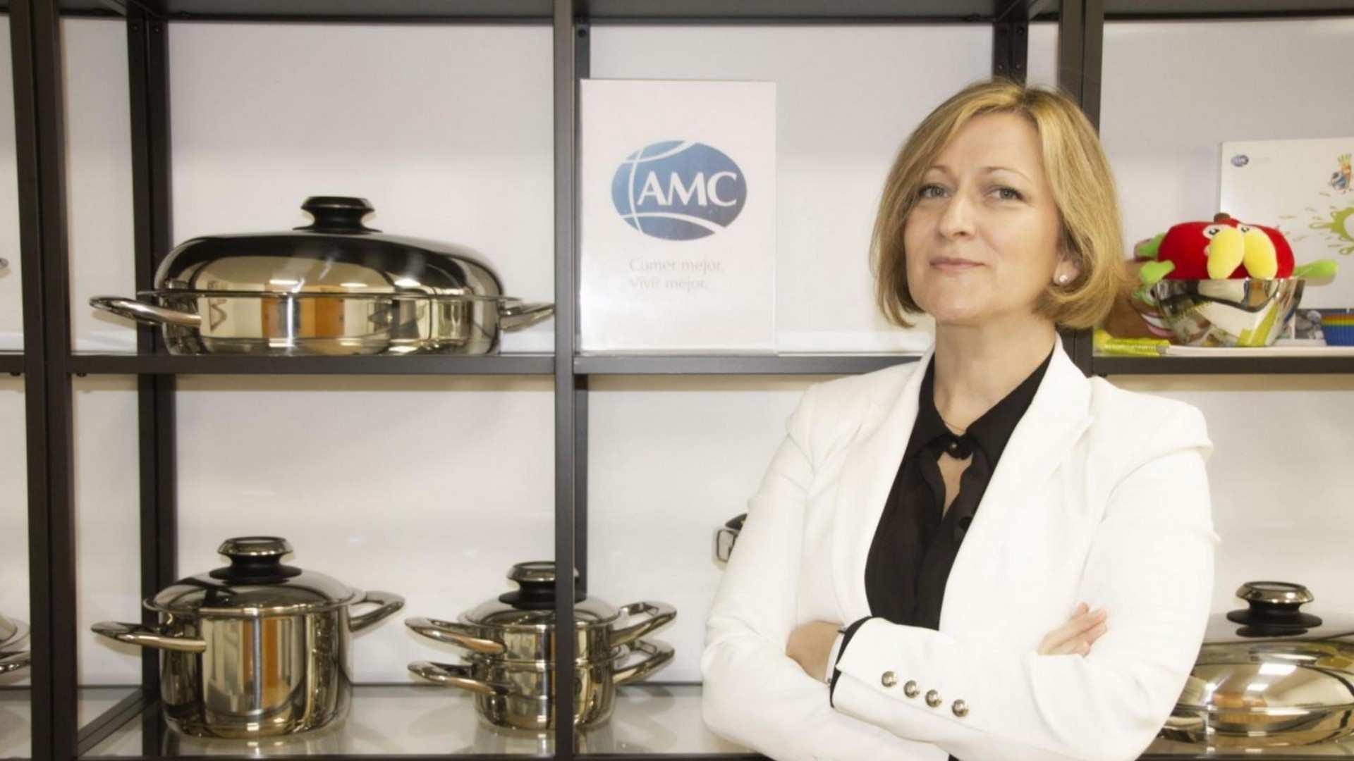"""Cinzia Di Michele, directora general de AMC: """" Cocinar verduras sin añadir agua retiene hasta un 50% más de vitaminas"""""""