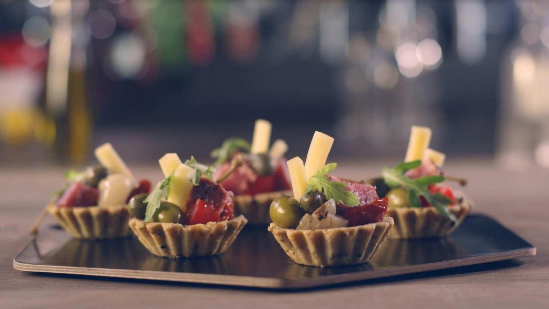 Receta de Tartaletas de Atún y Queso: especial recetas de Navidad