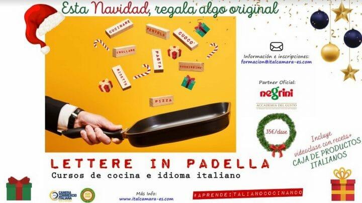 ¿Y si estas Navidades regalas (o te regalas) un curso de cocina e idioma italiano?