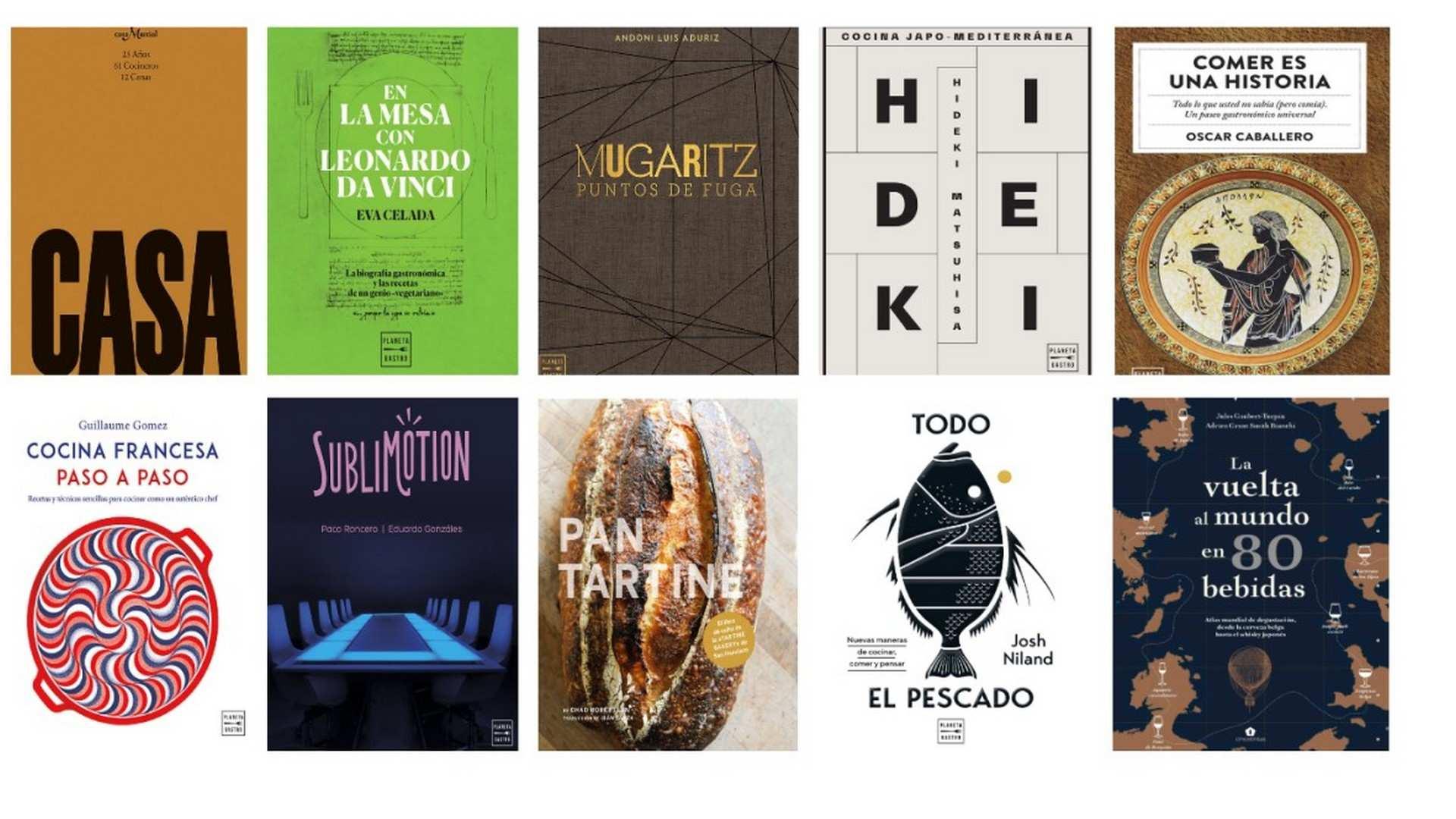 Los 10 mejores libros de cocina para regalar estas navidades