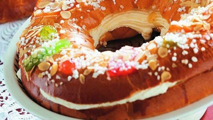 Los mejores Roscones de Reyes con nata del Supermercado