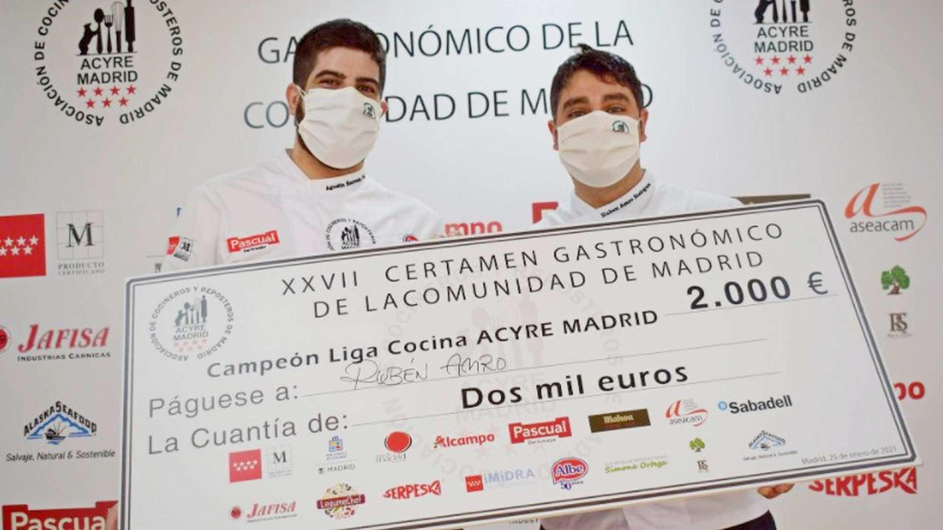 Rubén Amro y Agus Herrera, los mejores cocineros de Madrid