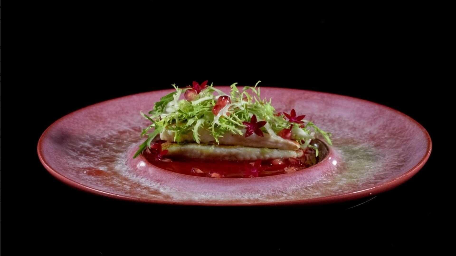 Receta de Salmonetes con salsa de granadas, de Susi Diaz