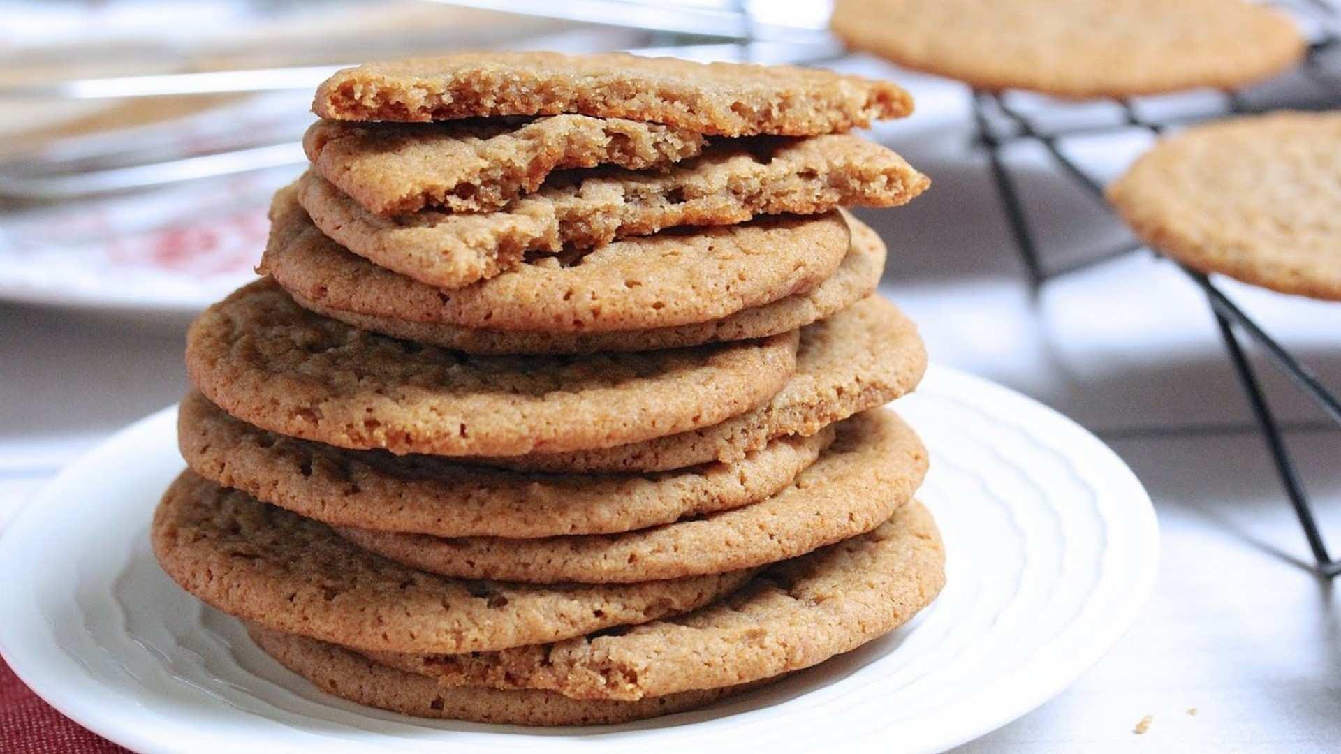 Receta de galletas de mantequilla sin gluten
